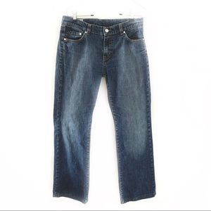Lacoste Straight Blue Jeans Size 38 (US Sz 6)